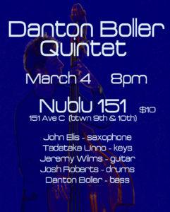 Danton Boller Quintet Nublu 151